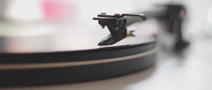 Record Background Image